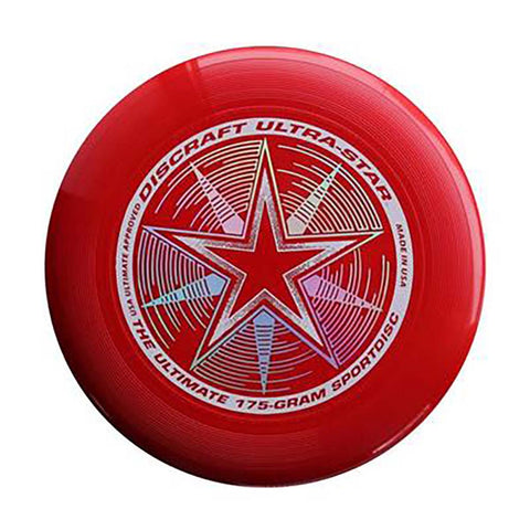 Discraft Ultra-Star 175 g disque Ultimate frisbee rouge