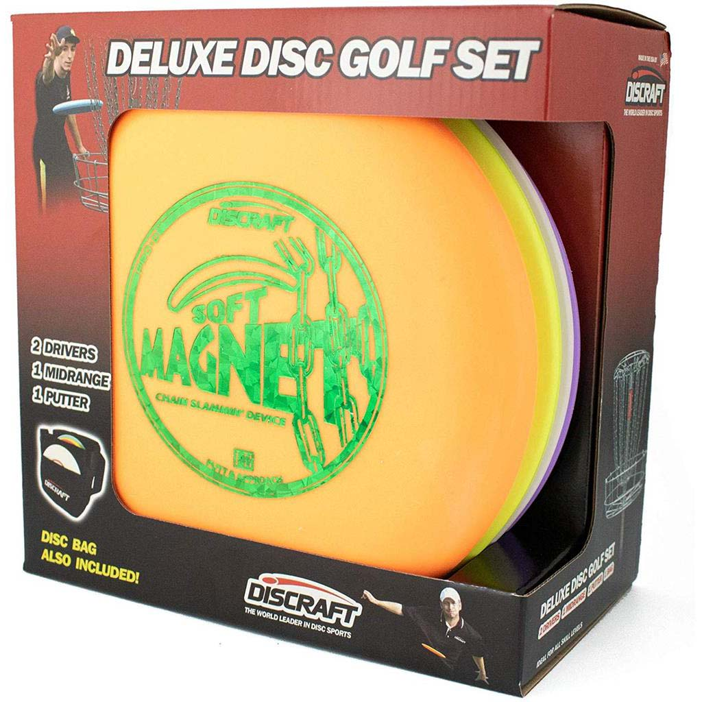 Discraft Disc Golf ensemble deluxe avec sac de transport