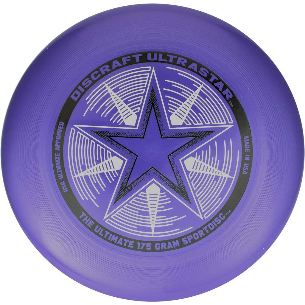 Discraft Ultra-Star 175 g Purple disque Ultimate frisbee