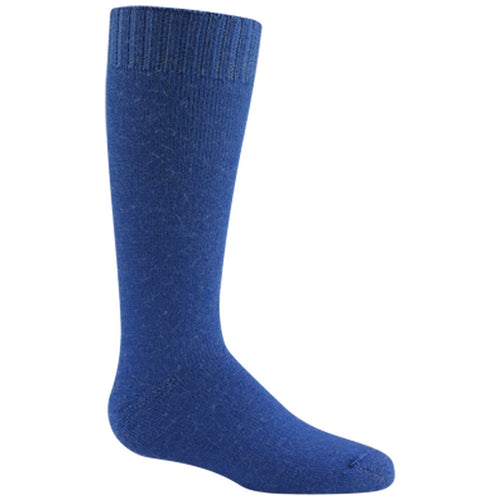 Wigwam Snow Jr kids winter socks blue Soccer Sport Fitness
