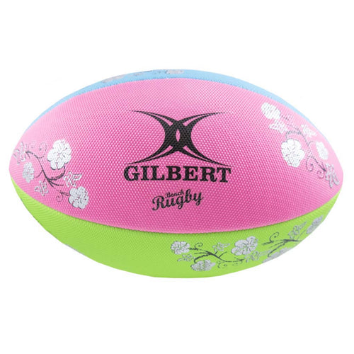 Gilbert multicolor beach rugby ball