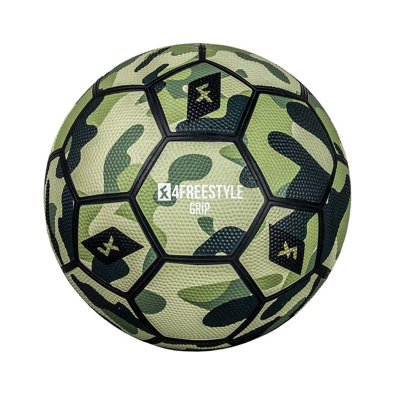 4Freestyle Grip White Camouflage soccer ball