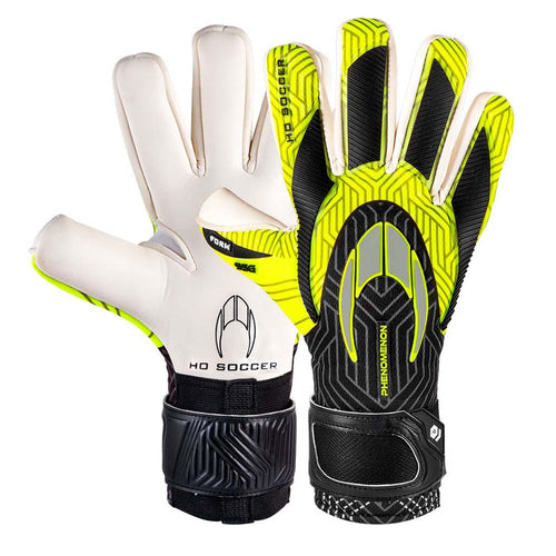 HO Soccer Phenomenon Negative gants de gardien de but de soccer paire