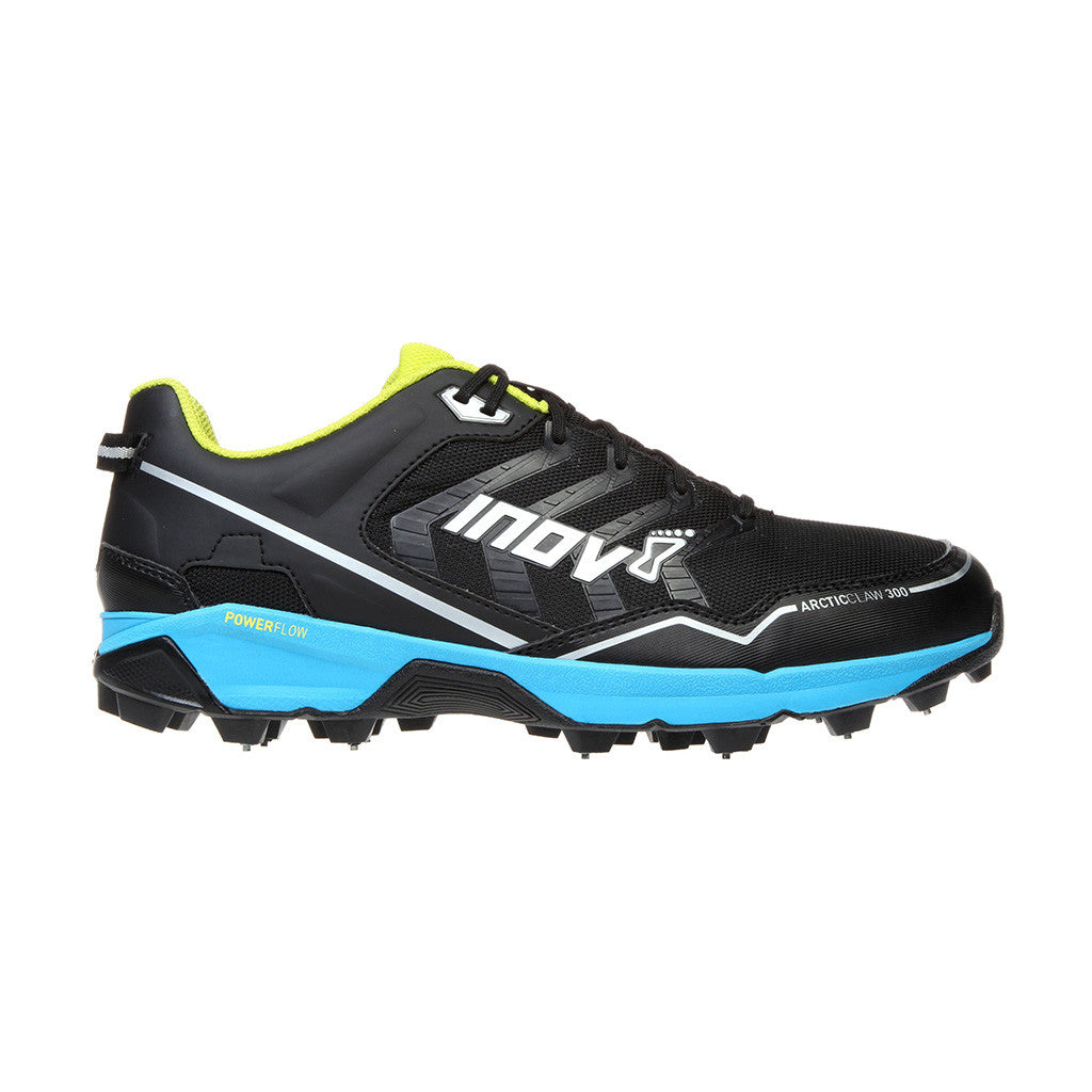 INOV-8 ArticClaw 300 trail running shoes black blue