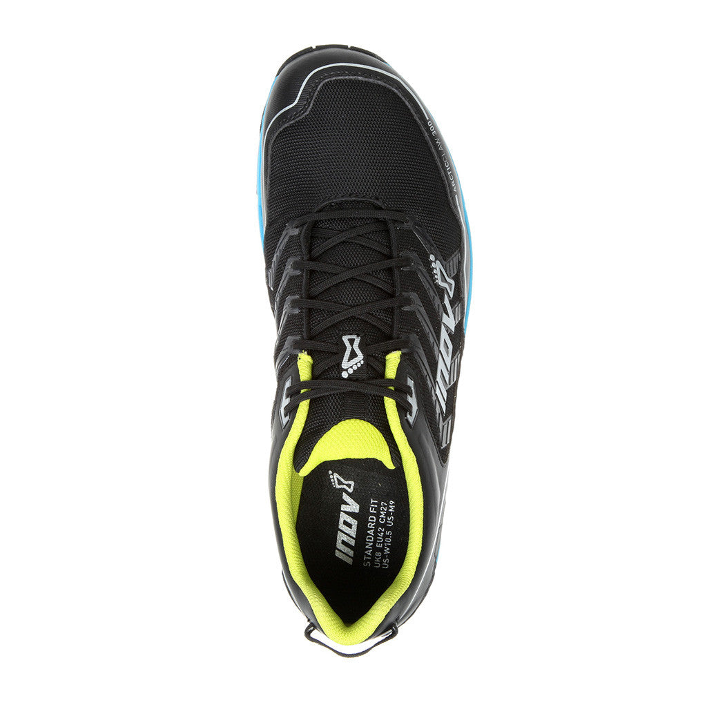 INOV-8 ArticClaw 300 trail running shoes black blue uv1