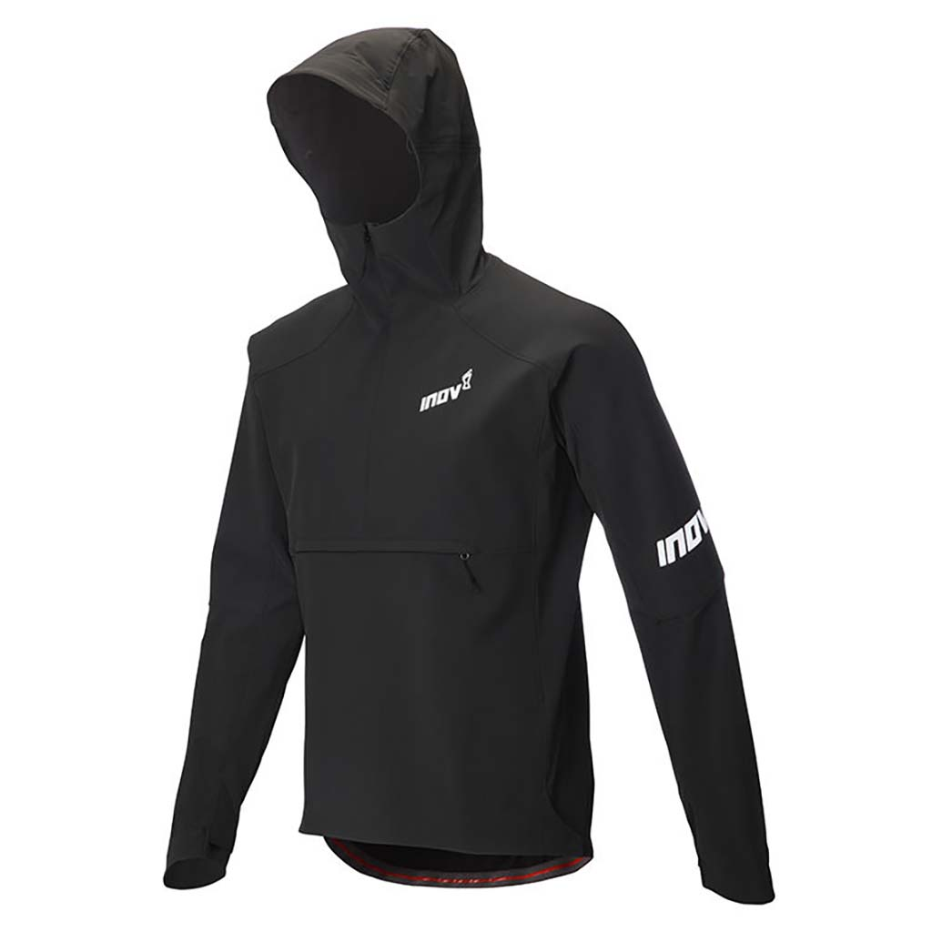 Inov-8 Softshell Thermal Jacket manteau de course a pied homme noir fv