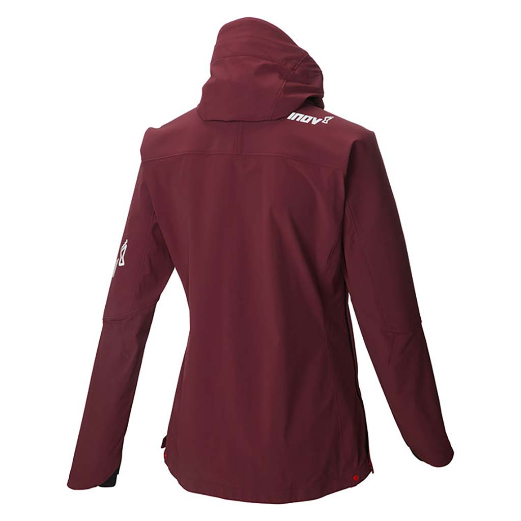 Inov-8 Softshell Thermal Jacket manteau de course a pied femme pourpre rv