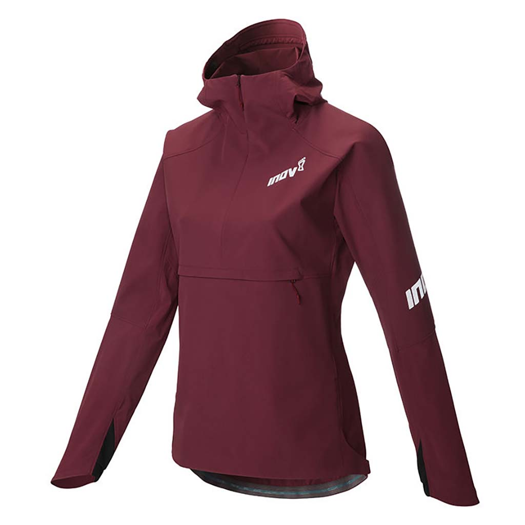 Inov-8 Softshell Thermal Jacket manteau de course a pied femme pourpre