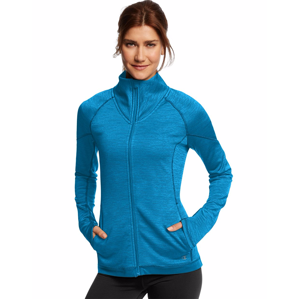 Chandail sport femme Champion Tech Fleece full zip women's sports jacket Soccer Sport Fitness
