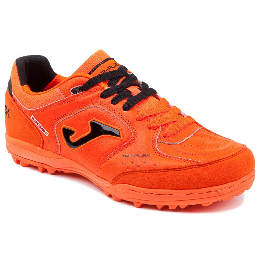 Joma Top Flex 807 chaussure de soccer turf synthétique corail lv1