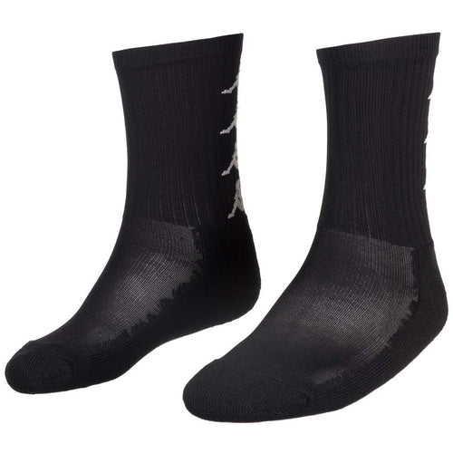 Chaussettes Kappa unisexes Authentic Amal noir