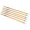 Kwik Goal coaching sticks orange
