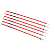Kwik Goal coaching sticks red