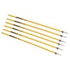 Kwik Goal coaching sticks yellow
