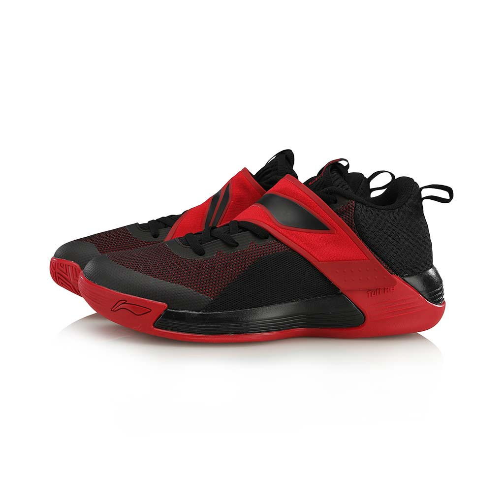 Li-Ning Yu Shuai Team chaussure de basketball rouge paire