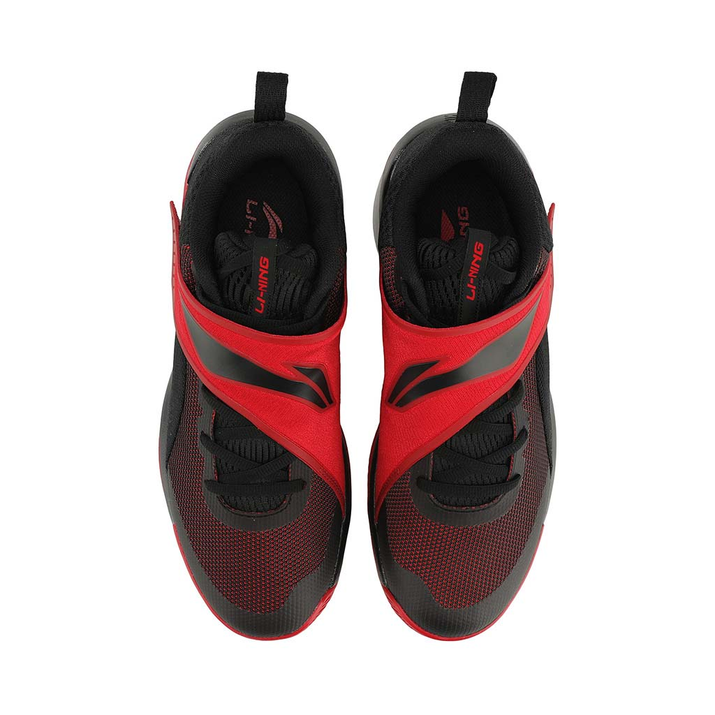 Li-Ning Yu Shuai Team chaussure de basketball rouge uv