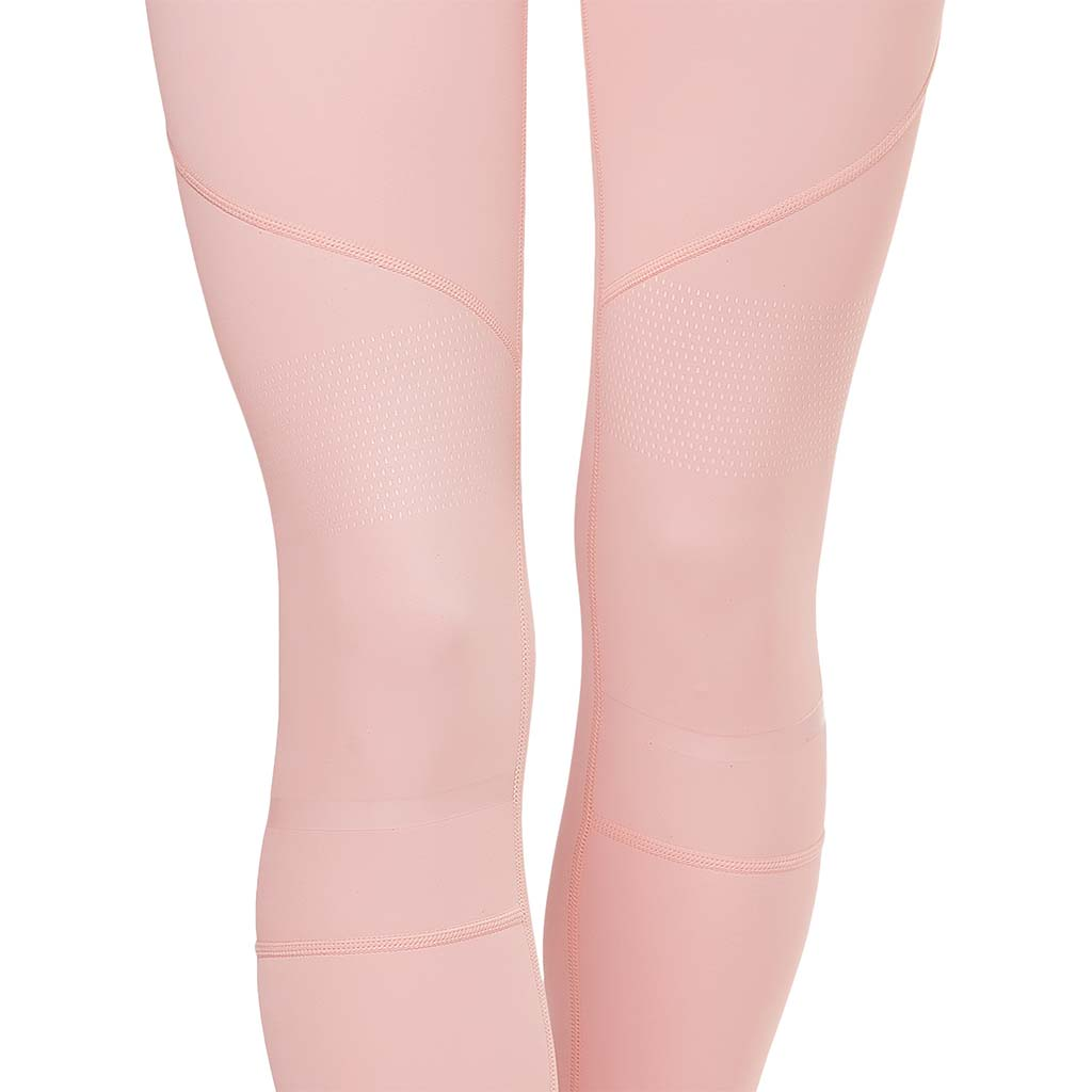 Lilybod leggings Amber Coral Blush pour femme closeup