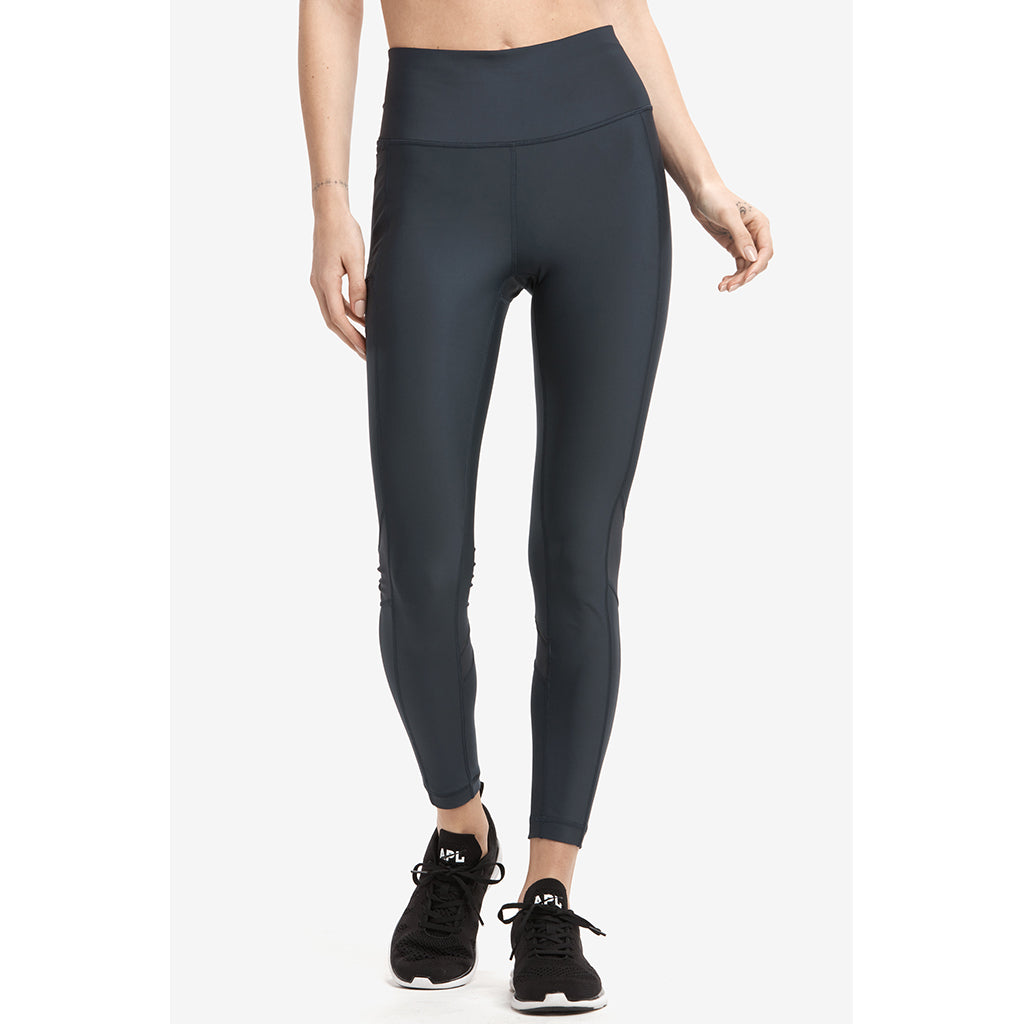 Lole Burst ankle leggings blue anchor