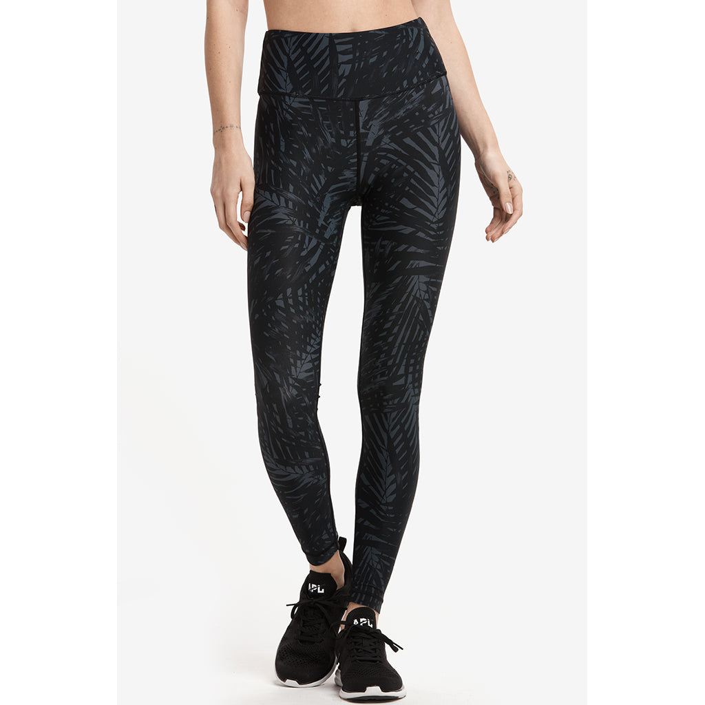Lole Parisia ankle leggings black jungle palm