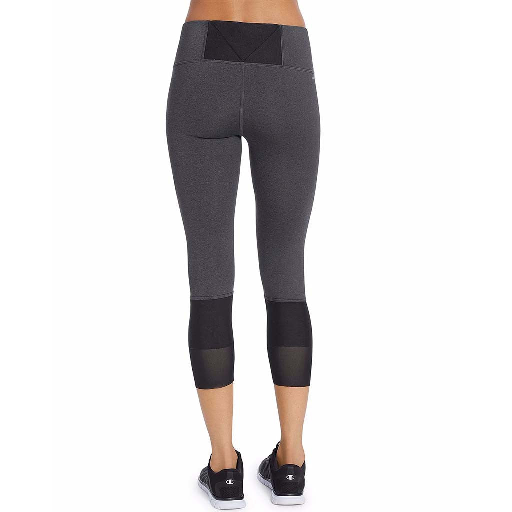 Champion Mesh legging  3/4 sport pour femme granite rv