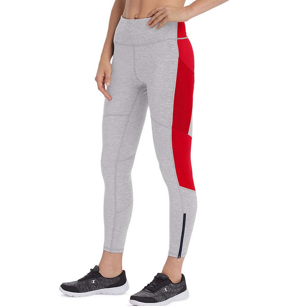 Champion Fashion 7/8 Tights legging sport pour femme noir gris rouge