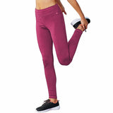 Pantalon legging sport femme Champion Tech Fleece berry delight Soccer Sport Fitness