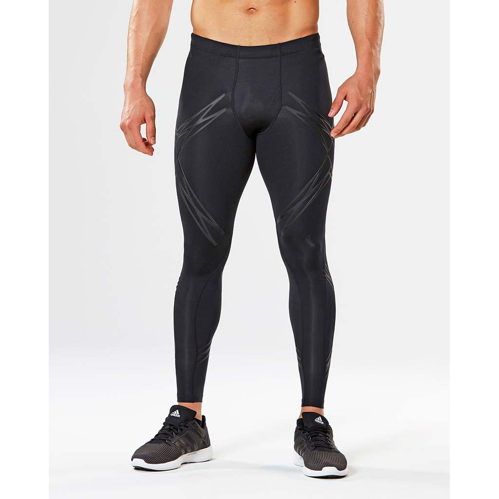2XU Lock men's compression tights black black