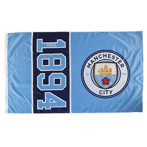 Manchester City FC drapeau du club