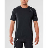2XU X-Ctrl men's short sleeve top black black lv