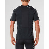2XU X-Ctrl men's short sleeve top black black rv