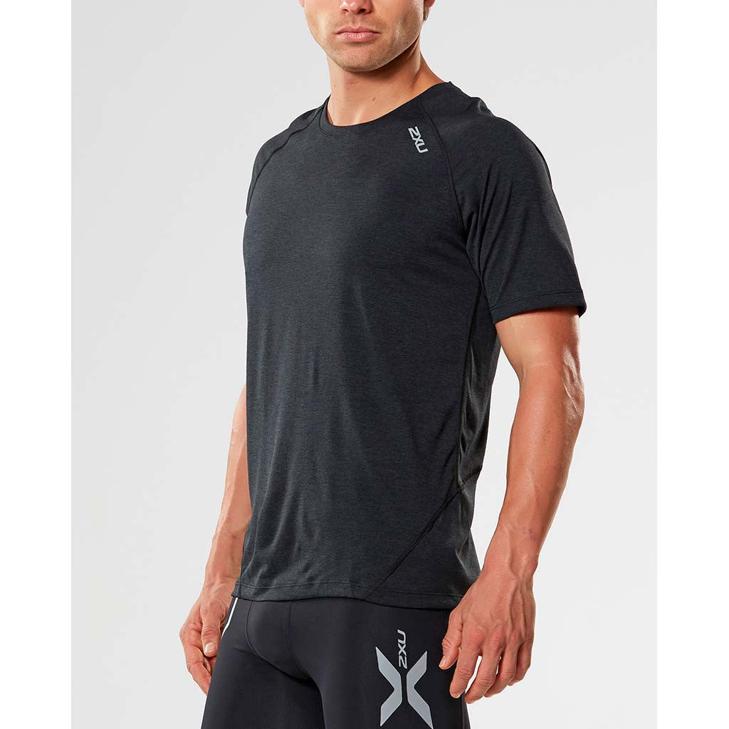2XU X-Ctrl men's short sleeve top black black
