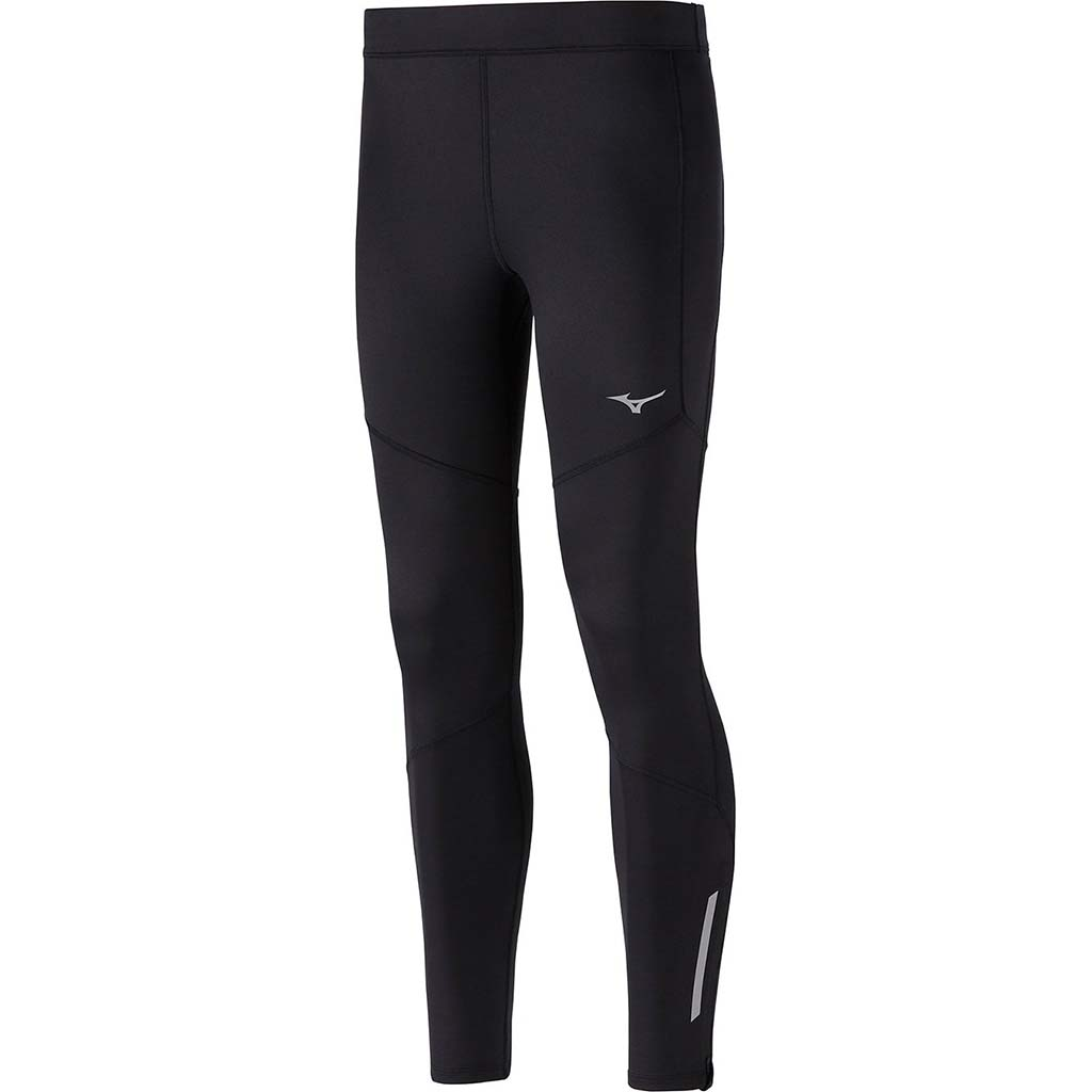 Mizuno Vortex Warmalite mens running leggings black