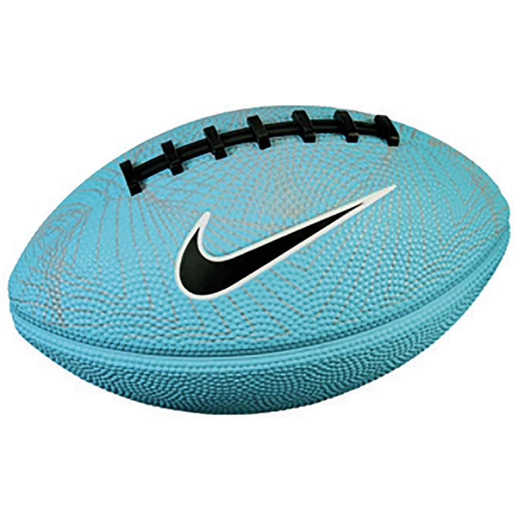 Nike 500 mini 4.0 ballon de football americain bleu
