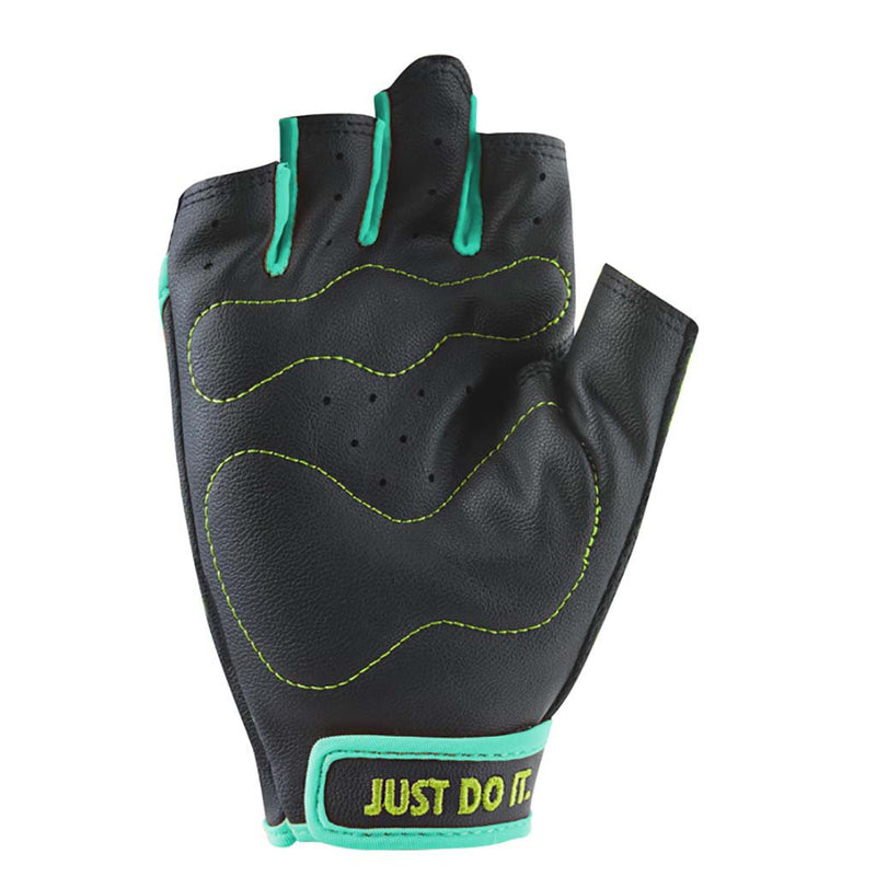 NIKE women's Perf Wrap training gloves Black HyperTurq Volt Soccer Sport Fitness paume