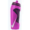 Bouteille sport Nike Hyper Fuel water bottle 24oz Pink Pow/Black/White Soccer Sport Fitness