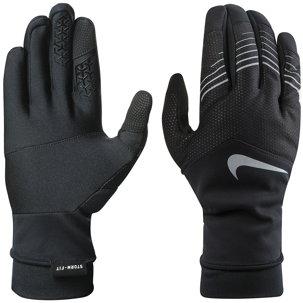 Gants de course à pied homme NIKE men's Storm-fit hybrid run gloves Soccer Sport Fitness