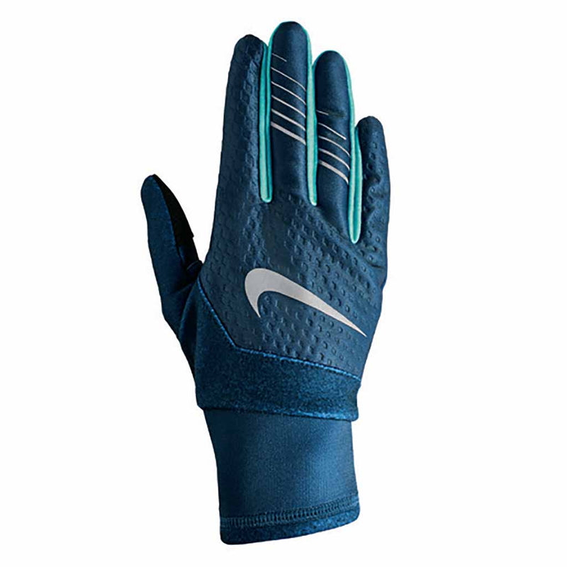 NIKE Therma-Fit Elite Run Gloves 2.0 gants de course à pied femme bleu vert Soccer Sport Fitness