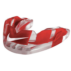 Protecteur buccal sport NIKE Hyperflow Mouthguard rouge Soccer Sport Fitness