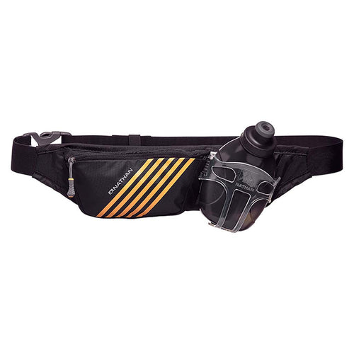 Nathan Swift Plus 10 oz black runners hydration belt Soccer Sport Fitness