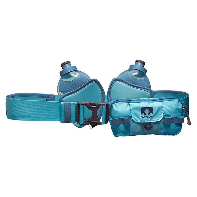 Nathan Switchblade 24 oz blue rear view runners hydration belt