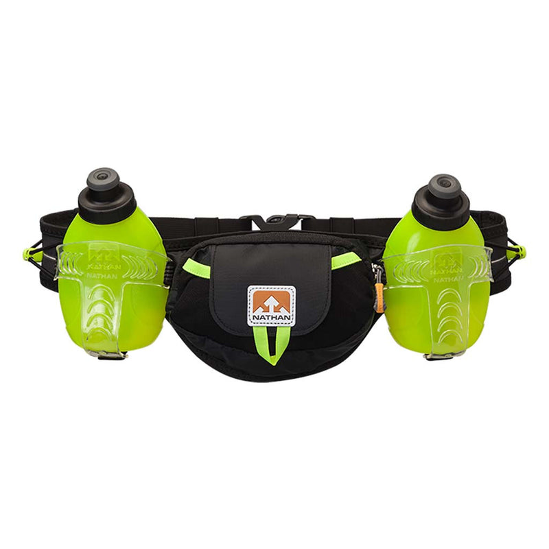 Nathan TrailMix Plus runners hydration belt black yellow Soccer Sport Fitness