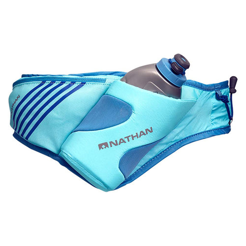 Nathan Peak Hydration runners hydration belt bleu Soccer Sport Fitness