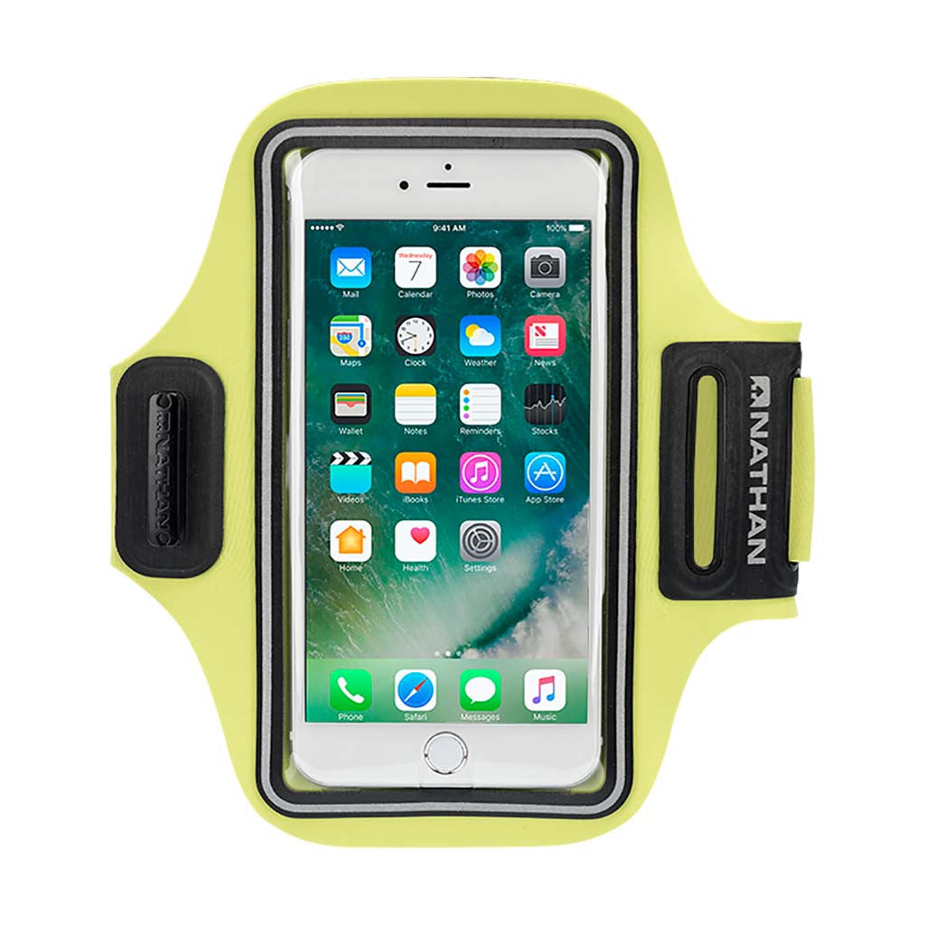 Nathan StrideSport sports smartphone carrier yellow