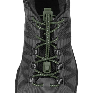 Nathan Run Laces lacets verrouillants bronze vert