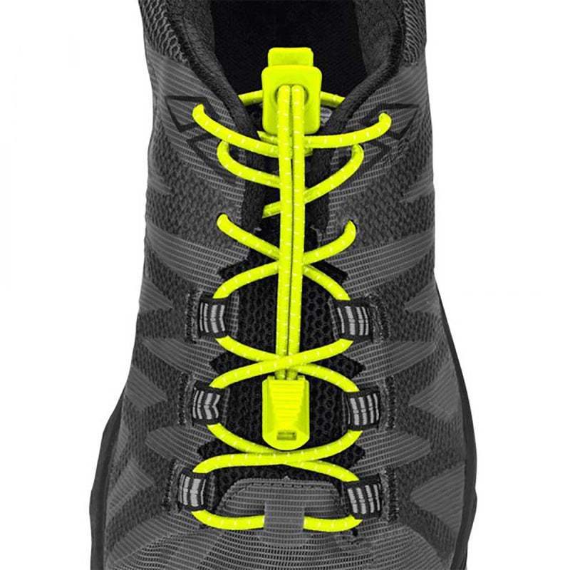 Nathan Run Laces lacets verrouillants jaune