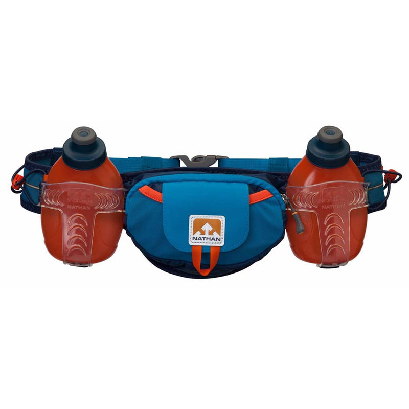Nathan TrailMix Plus runners hydration belt methyl blue
