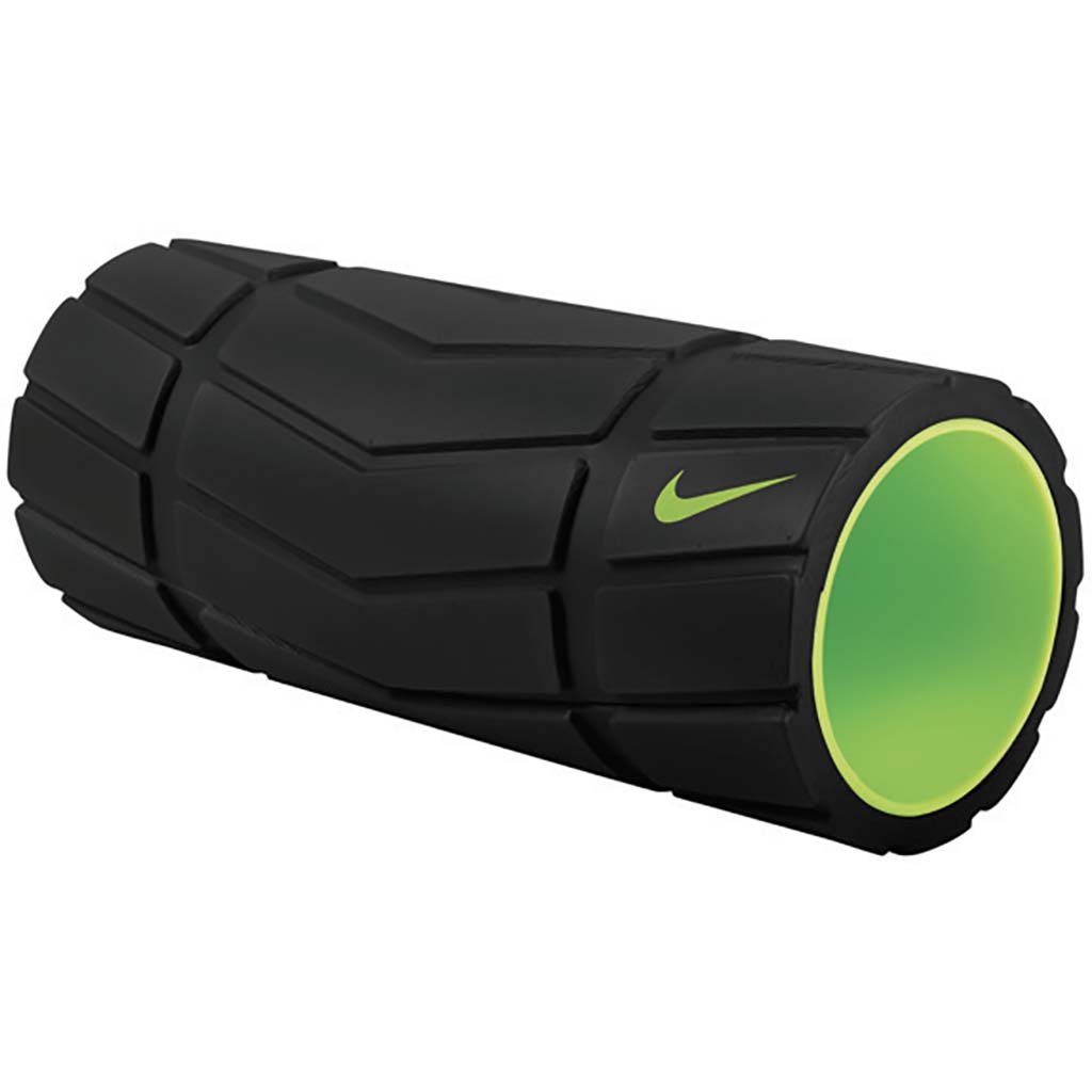Rouleau de massage Nike Recovery Foam Roller 13 in black volt