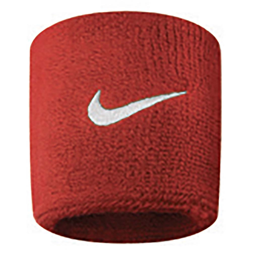 Nike Wristbands Swoosh varsity red