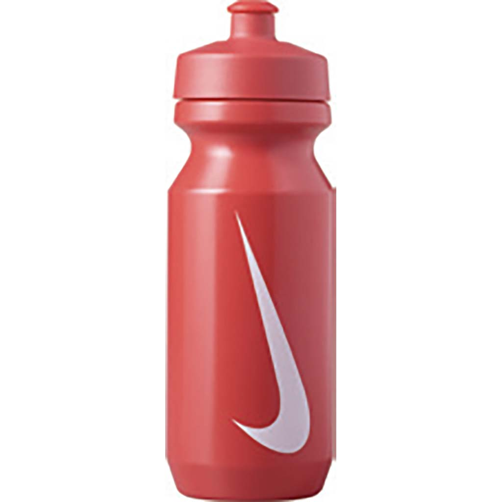 nike big mouth 2.0 water bottle 22oz sport red white