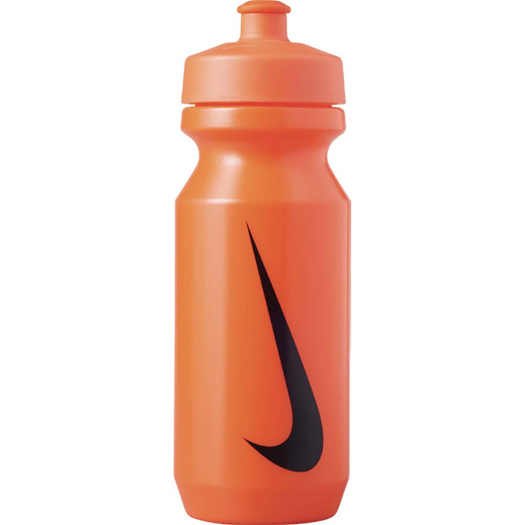 nike big mouth 2.0 water bottle 22oz orange black